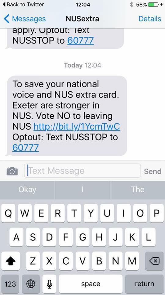texts nus