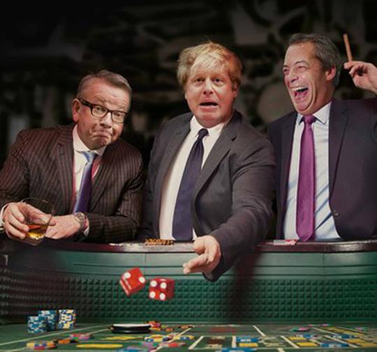 boris gove farage gambling gamble casino