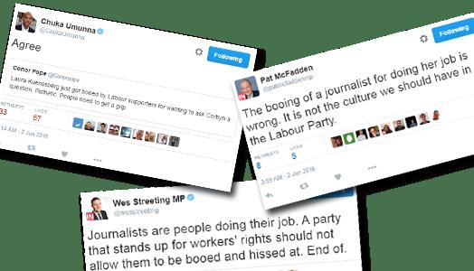 Labour MPs Laura K