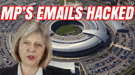 MPS EMAILS HACKED THERESA MAY