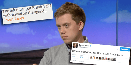 Owen Jones Lexit