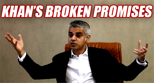 Khan Breaks Fourth Promise