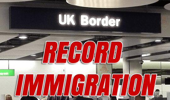 Highest Ever Immigration