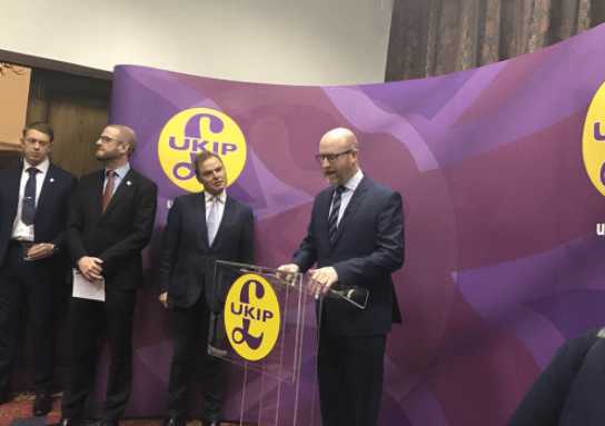 UKIP Announce Nuttall for Stoke