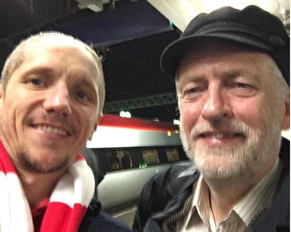 "Watch: Jez Called ""S***"" on Train"