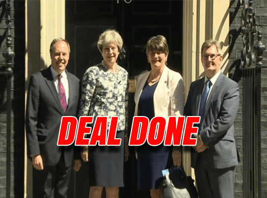 DUP Deal Signed