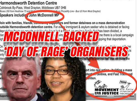 McDonnell Repeatedly Backed Far Left 'Day of Rage' Group