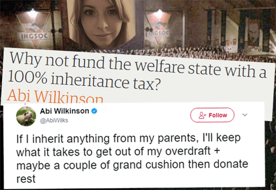 Abi Says Is Abi Exempt from 100% Inheritance Tax