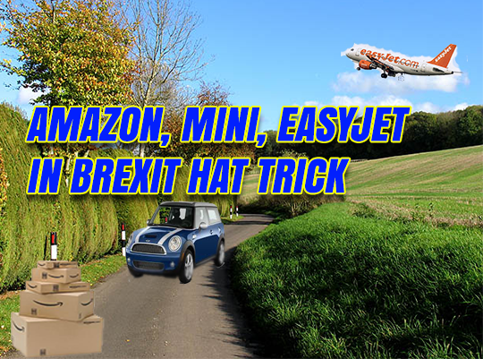 Hat-Trick of Brexit Good News