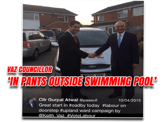 "Pants-Wearing Councillor Boasted He Had ""Vaz in My Right Pocket"""