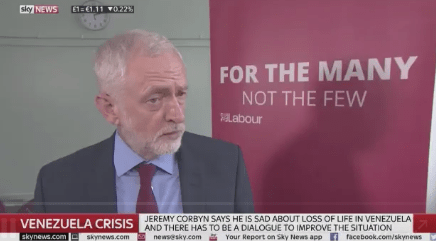 Watch: Corbyn Doubles Down on Venezuela