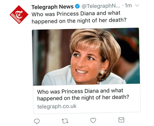 Telegraph's Dumbed Down Diana Coverage