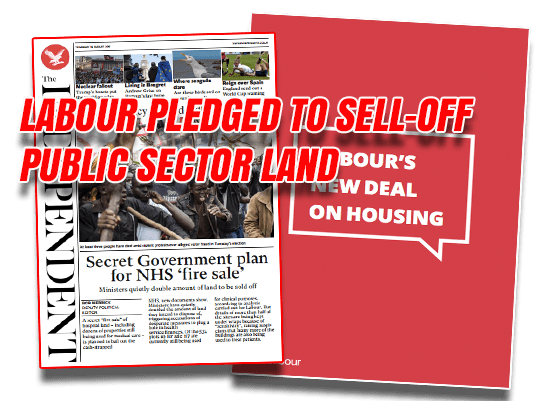 Labour Pledged to Sell-Off Public Land