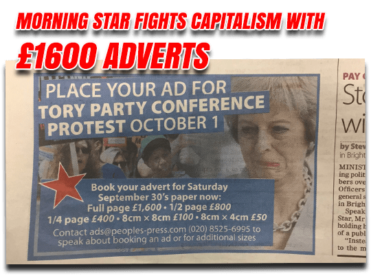 Morning Star Fights Capitalism
