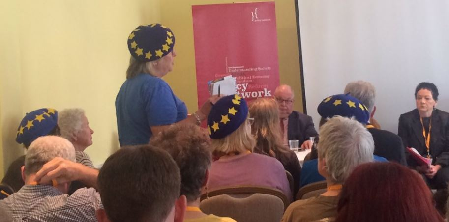 EU Berets at LibDem Conference