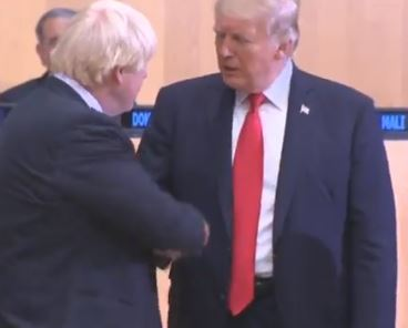 WATCH: Boris Meets Trump