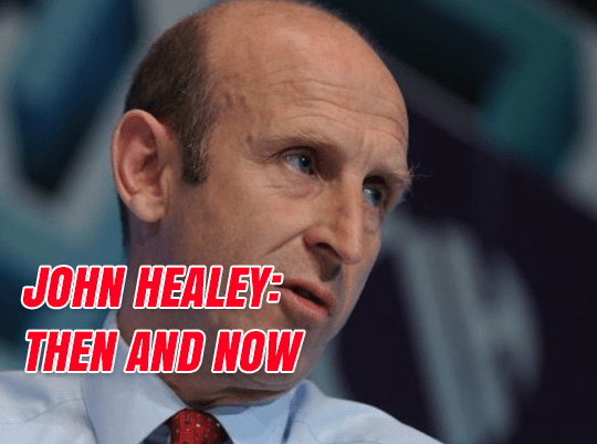 John Healey: Then and Now