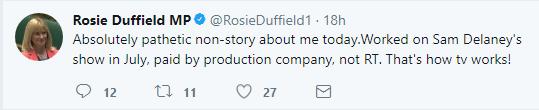 Really Rosie?