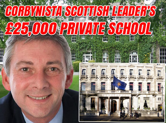New Scottish Labour Leader's Old Boys' Black Tie Dinner