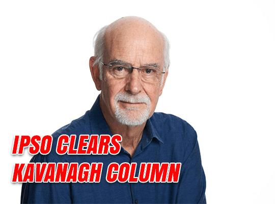 IPSO Clears Kavanagh Column