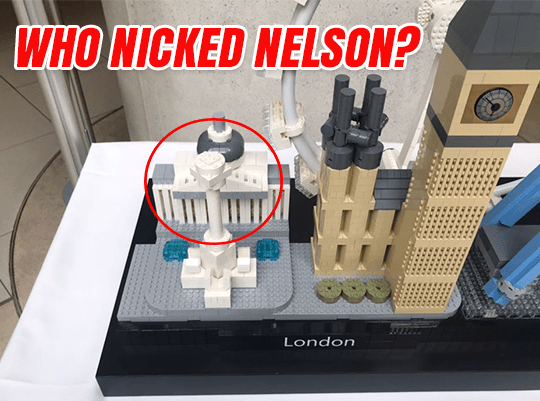 Who Nicked Nelson?