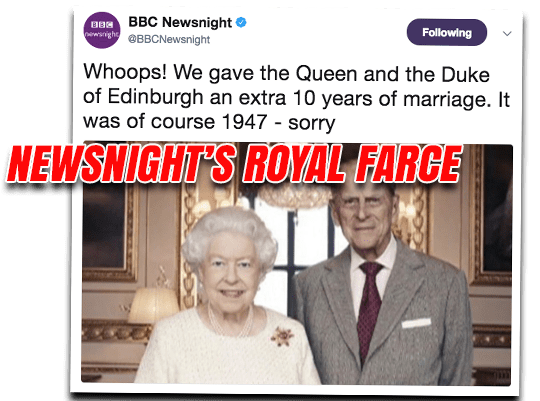 Newsnight's Royal Farce