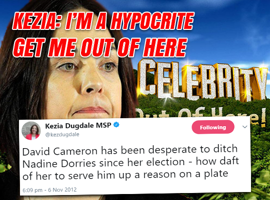 Kezia: I'm A Hypocrite, Get Me Out of Here