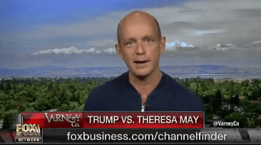 "Steve Hilton to Donald Trump: Give Britain""Big, Beautiful Trade Deal"""