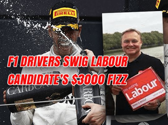 Labour Candidate's $3000-a-Bottle Champagne