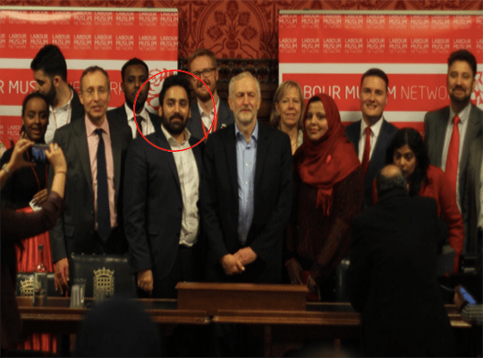"Corbyn Launches Labour Muslim Group Headed By ""Israel Has No Right to Exist"" Activist"