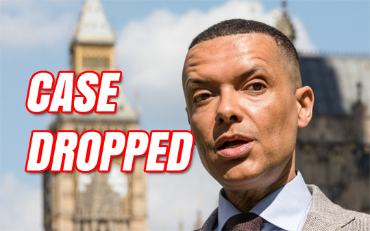Clive Lewis Investigation Dropped