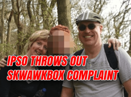 IPSO Throws Out Another Skwawkbox Complaint