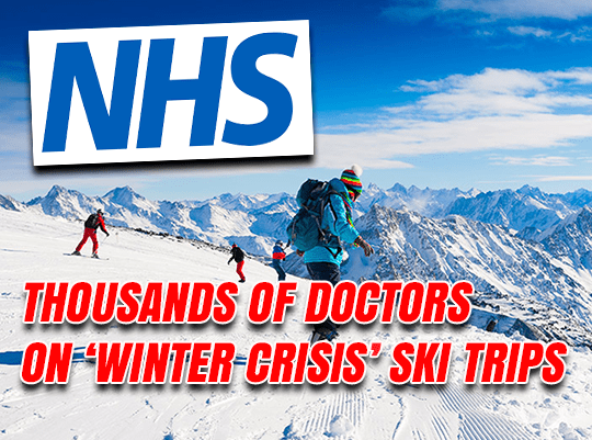 Thousands of Doctors on 'Winter Crisis' Ski Trips