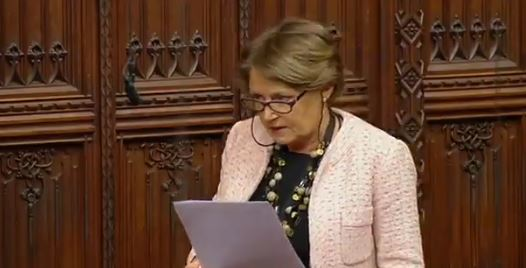 Watch: Baroness Jenkin Drops C-Bomb in Lords