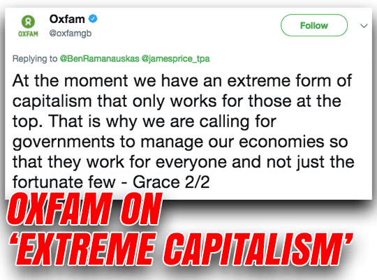 Oxfam Go Full Corbynista