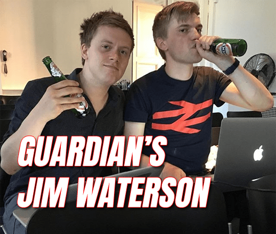 Waterson New Guardian Media Editor