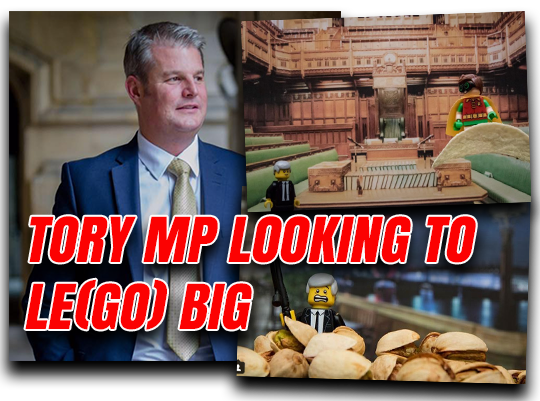 Tory MP Plans to (Le)Go Big Online