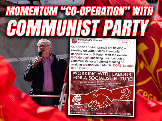 "Labour and Communists Hold ""Co-Operation"" Meeting"