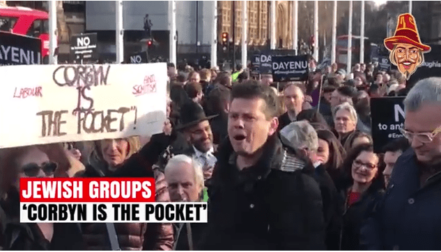 WATCH: Guy News Special Report on Corbyn Anti-Semitism Protest