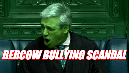 Former Black Rod: Bercow Unfit For Public Office