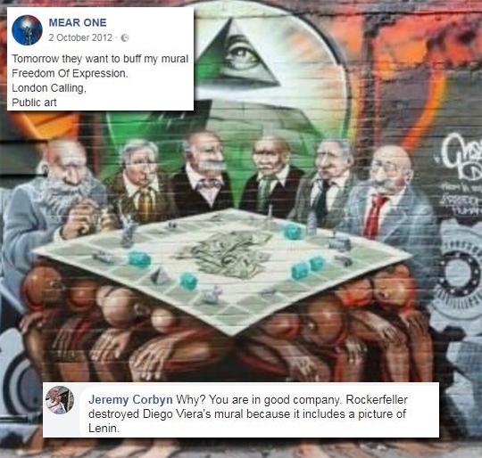 Berger Asks Corbyn to Explain Comment Defending Anti-Semitic Mural