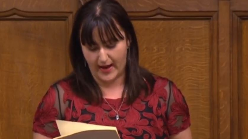 Ruth Smeeth Reads Anti-Semitic Abuse from Corbynistas