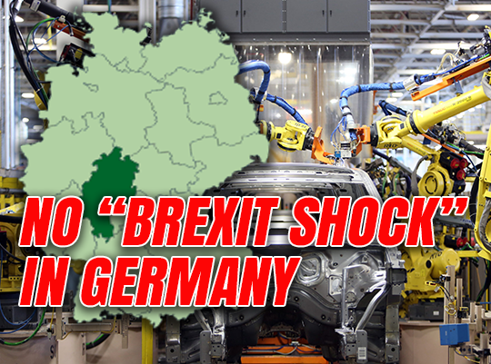 German Firms Back Brexit Britain