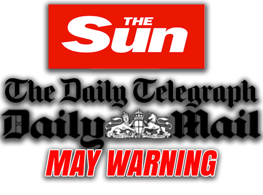Sun, Mail, Telegraph Warn May