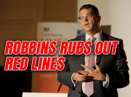 Cabinet Brexiters Silent as Robbins Rubs Out Red Lines