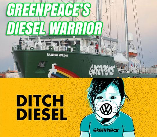Greenpeace's Diesel Warrior
