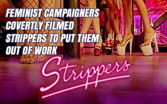 Feminist Campaigners Secretly Filmed Strippers