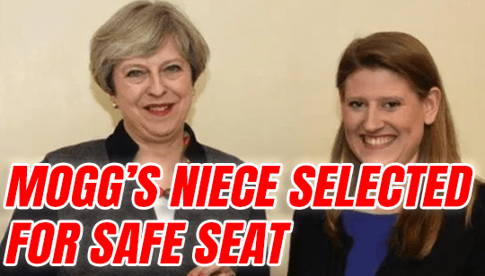 Rees-Mogg's Niece Selected as Tory Candidate