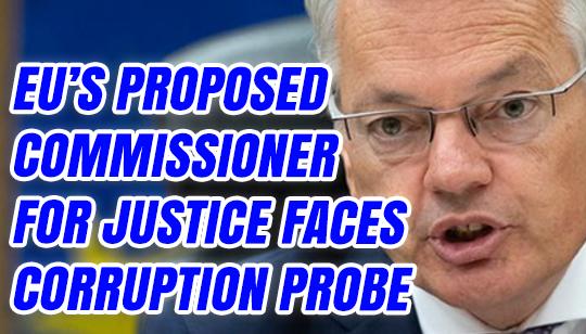 EU's Proposed Justice Commissioner Faces Corruption Probe -
