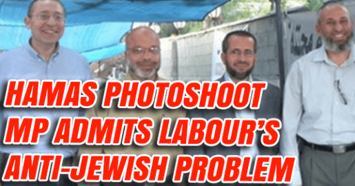 Labour MP Who Posed with Hamas Says Labour has Failed on Antisemitism -